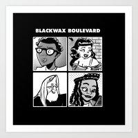 Blackwax Boulevard Album… Art Print