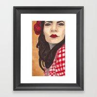 Becktress Framed Art Print
