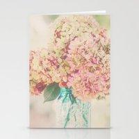 Dreamy Autumn Hydrangea … Stationery Cards