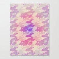 Lava Lamp Lavender  Canvas Print