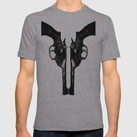 That's When I Reach For My Revolver Mens Fitted Tee Athletic Grey SMALL