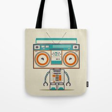 Music robot Tote Bag