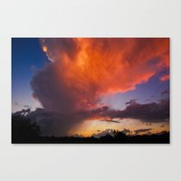 Before The End Of The Storm Canvas Print
