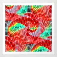 Discharge Pulse Art Print