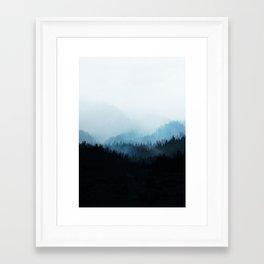 Framed Art Print - Woods 5Y - Mareike Böhmer