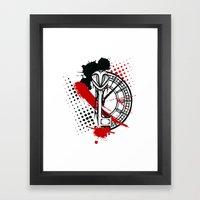 Timekeeper Framed Art Print