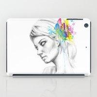 Butterfly Queen iPad Case