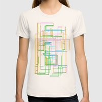 roads Womens Fitted Tee Natural SMALL