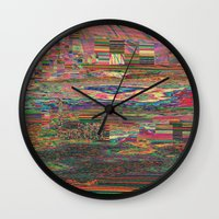Colonized Wall Clock