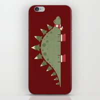 Christmasaurus iPhone & iPod Skin