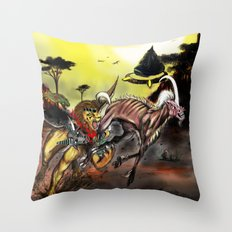 Final Fantasy 8 Chimera vs Mesmerize Throw Pillow