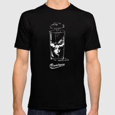 Private Agony Mens Fitted Tee Black SMALL