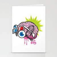 BRAIN-D! Stationery Cards