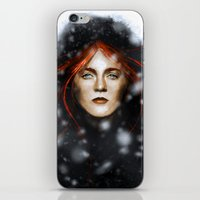 KISSED BY FIRE iPhone & iPod Skin