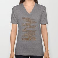 Viking Prayer Unisex V-Neck