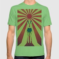 Major Exports Mens Fitted Tee Grass SMALL