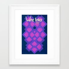 Epachi Hearts - Wezteka Union. Framed Art Print