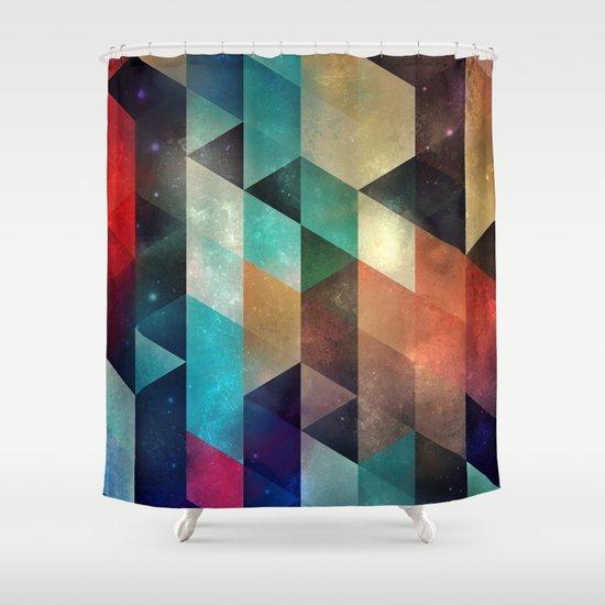 syy pyy syy Shower Curtain