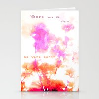 Where Were We? Stationery Cards
