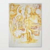 sepia III Canvas Print
