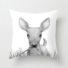 Hello deer! Throw Pillow