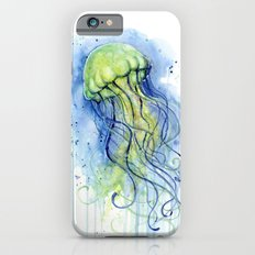 Jellyfish Watercolor   Sea Creatures iPhone 6s Slim Case