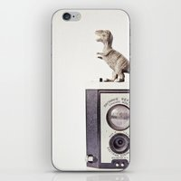 The Dinosaur And The Bro… iPhone & iPod Skin