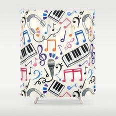 Good Beats - Music Notes… Shower Curtain