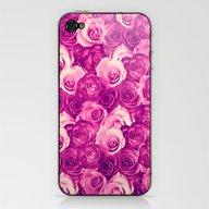 Roses Carpet In Vintage … iPhone & iPod Skin