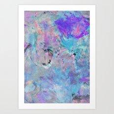 Painterly Escape Art Print