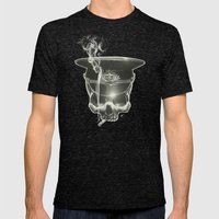 Follow The Leader Mens Fitted Tee Tri-Black SMALL