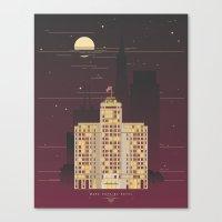 Mark Hopkins Hotel Canvas Print