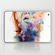 Laptop & iPad Skin featuring This Thing Called Art Is… by Agnes-cecile
