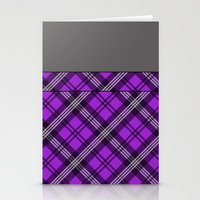 Scottish Plaid (Tartan) … Stationery Cards