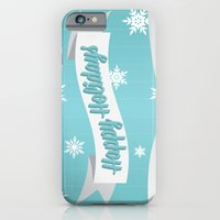 Holiday Snow iPhone 6 Slim Case