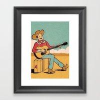 Desert Song Framed Art Print