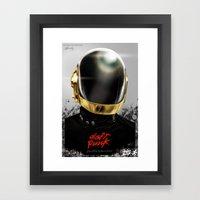 Daft Punk I Framed Art Print