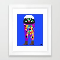 Lester Framed Art Print