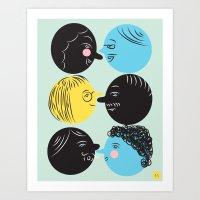 Social Art Print