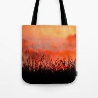 Rainbow Sundown Tote Bag
