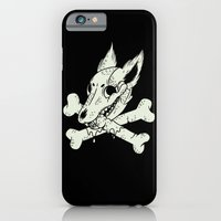 iPhone & iPod Case featuring Dog & Crossbones by Polite Yet Peculiar