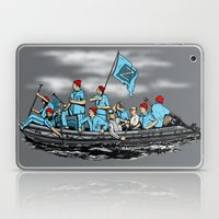 Team Zissou Crossing the Delaware Laptop & iPad Skin