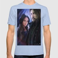 Sleepy Hollow (TV) Mens Fitted Tee Tri-Blue SMALL