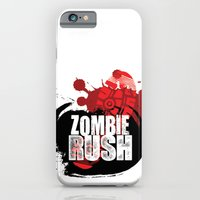 iPhone & iPod Case featuring Zombie Rush - 2012 by MindFrost Solutions