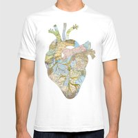 A Traveler's Heart (N.T) Mens Fitted Tee White SMALL