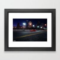 Mazda RX-7 Framed Art Print