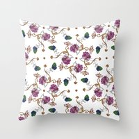 Hands arabesque Throw Pillow