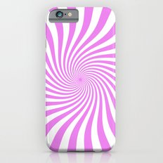 Swirl (Violet/White) iPhone 6 Slim Case