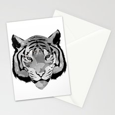 Tiger B&W Stationery Cards