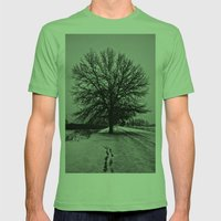 Solus Mens Fitted Tee Grass SMALL